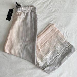 BCBG | Houston Striped Wide Leg Pants